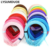 Корейская мода, атласная повязка на голову, милая лента для волос, однотонный головной убор карамельного цвета, новые аксессуары для волос для девочек