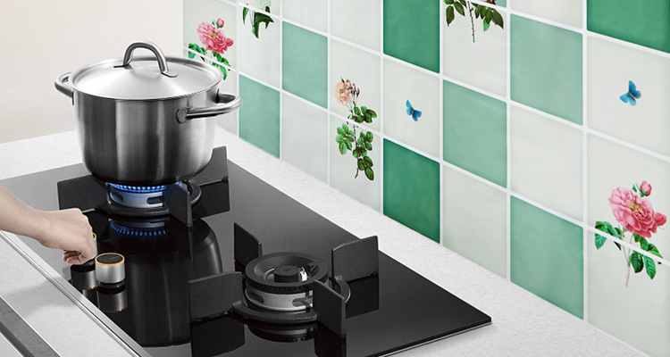 75 45cm Hot Sale Kitchen Wall Stickers Foil Oil Sticker Decal Home