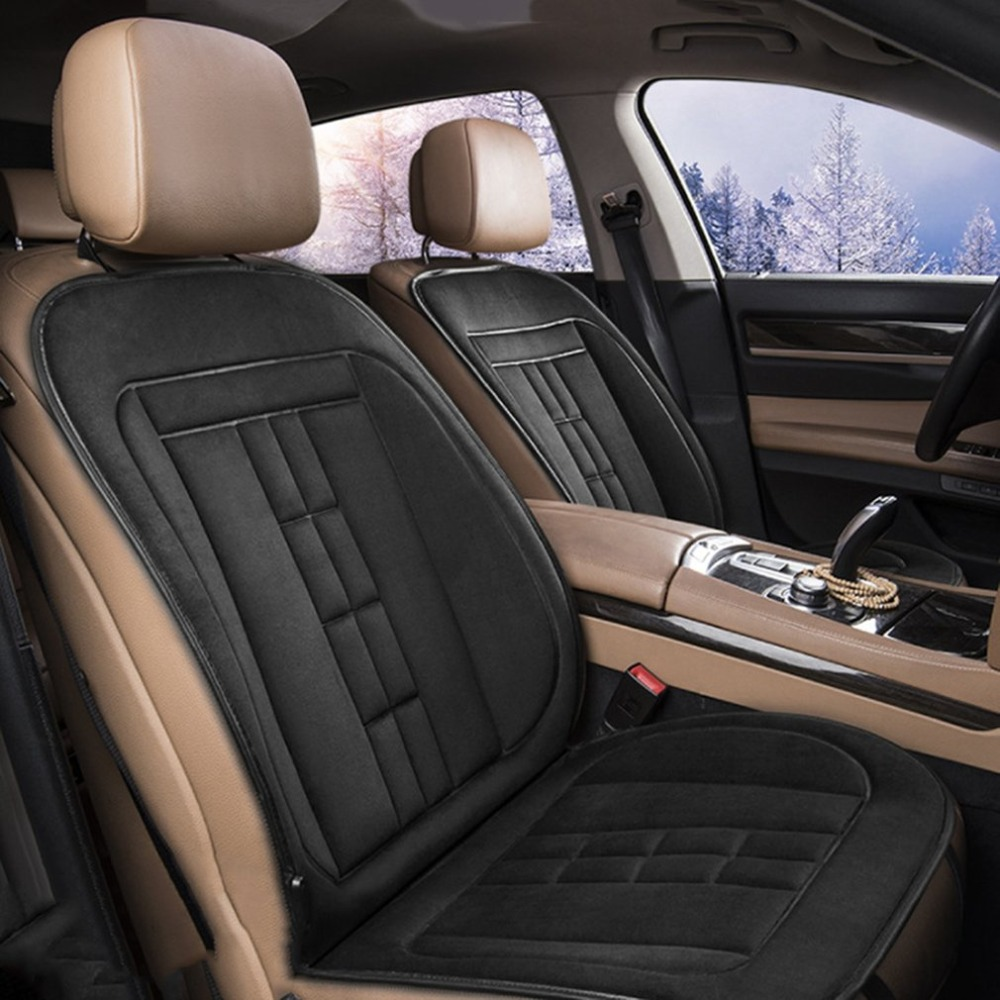 Cushion Essential-Accessories Seat Heater-Back Universal Electrcal Heating Car-Style