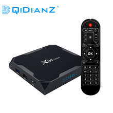 DQiDianZ X96max Android 8.1 9.0 Smart TV BOX Amlogic S905X2 Quad Core LPDDR4 2.4G & 5.8G Wifi BT x96 Max Đa Phương Tiện Set Top Box(China)