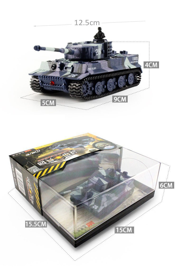 14CH 1:72 RC Tank Toy Great Wall 2117 Remote Control Tank ...