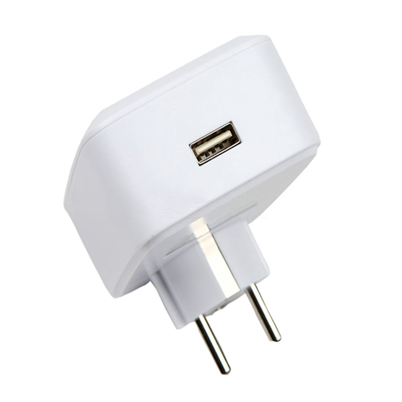 New EU Standard White Wifi Smart Plug Power Socket With USB App Wireless Remote Control Wall Plug For IOS Andriod