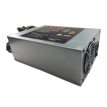 1600W PSU Power Supply PC For ETH S7 S9 6pin*12 1600W ATX for L3 Mining Machine Power Supplies for Eth Bitcoin Miner Antminer