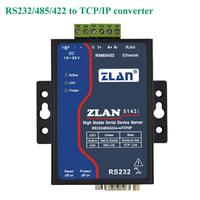 Isolated Serial to Ethernet Converter RS232/RS485/RS422 to TCP/IP data transmission Modbus Gateway Anti lightning/jamming