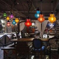 Einzigen hängenden lichter esszimmer Retro Seil Licht industrie restaurant pendelleuchten eingang hängen beleuchtung bar lampe led