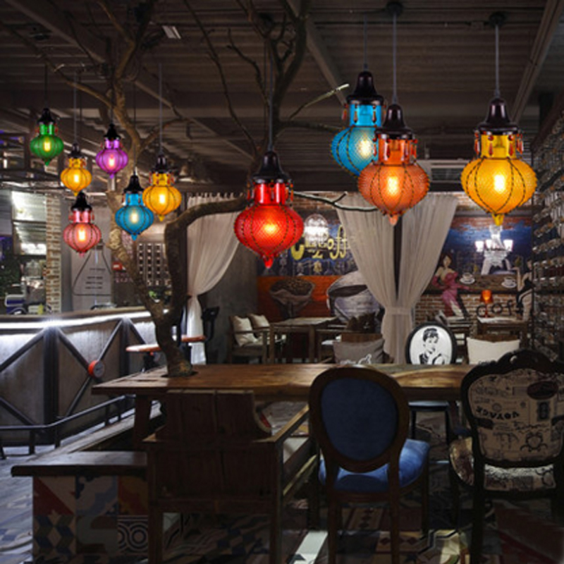 single hanging lights Dining room Retro Rope Light  industrial restaurant pendant lamps entrance hanging lighting bar lamp led 20 chinese style lantern dining room pendant light fabric restaurant hanging lamps retro living room pendant lamps