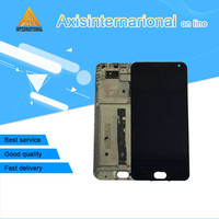 Axisinternational LCD Screen Display Touch Panel Digitizer With Frame For 5 5 Meizu M2 Note Meilan