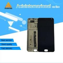 """Для 5.5 """"Meizu M2 Note meilan Примечание 2 axisinternational ЖК-дисплей экран + Сенсорная панель планшета с frameblack Бесплатная доставка"""