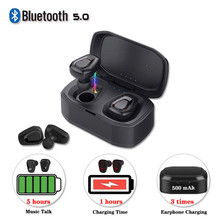 Bluetooth 5.0 Earphone A7 TWS Wireless Headset Stereo Sports Handfree Earbuds With Charging Box For iphone Android Earpod PK i7s