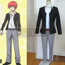 Assassination Classroom Cosplay Akabane Karma cosplay Costume(Blazer + pants+ shirt)