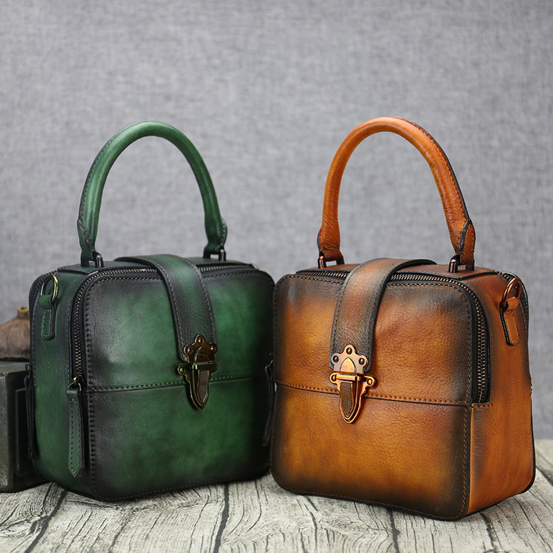 Genuine Leather Women Handbags Bolsa Feminina Designer Vintage Cowhide Shoulder Crossbody Bags Messenger Bag sac a main 5pcs set 85mm forstner wood drill bit set 15 20 25 30 35mm hole saw cutter wood tools with round shank