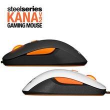 Бесплатная доставка оригинал SteelSeries kana V2 мышь оптическая Мыши & мышей гонка ядро Профессиональные оптические Игры Мыши