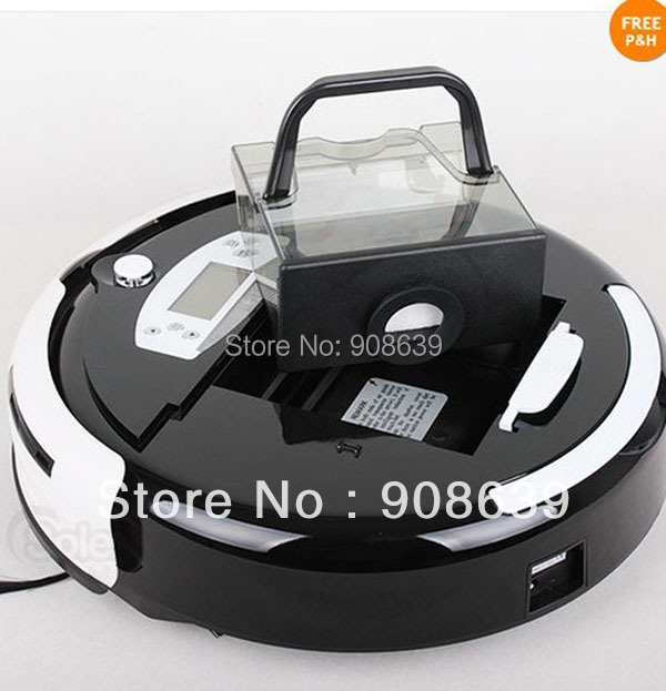 Wet And Dry Robotic intelligent Robot Vacuum Cleaner With Larger Dust Bin Box +China Original +UV lights +CE&ROHS