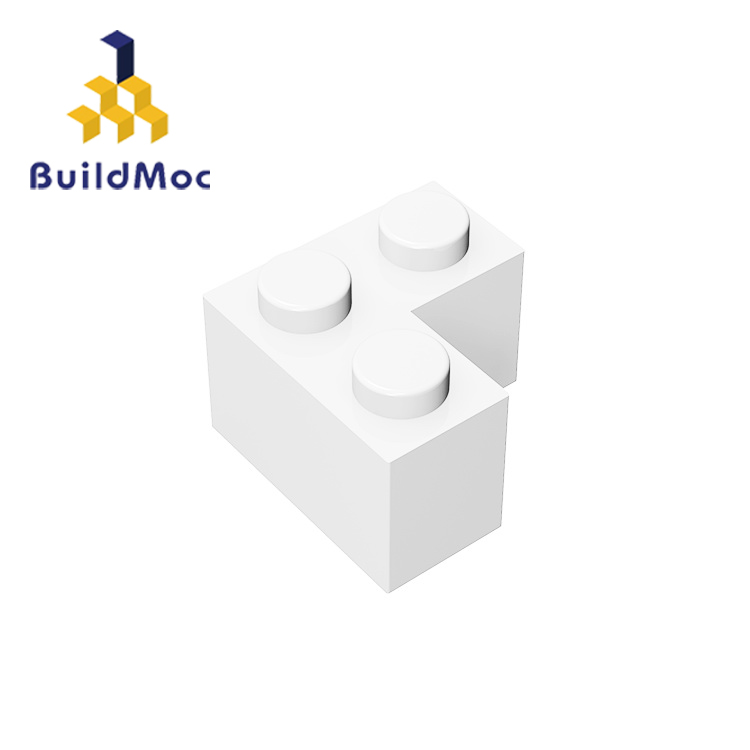 BuildMOC Compatible Assembles Particles 2357 2x2 Corner For Building Blocks Parts DIY Educational Creative Gift Toys
