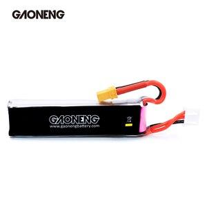 Image 4 - 2 pces gaoneng gnb lipo bateria 520 mah 7.6 v 80c 2 s hv 4.35 v recarregável rc bateria xt30 plug para rc fpv zangão quadcopter