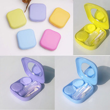 Mini Contact Lens Case With Mirror High Quality Cute Portable Easy Carry 1PC Hot Pocket Travel Kit