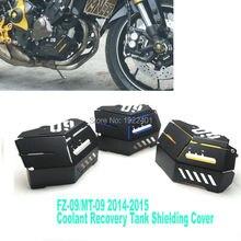 Восстановление Бака сож Экранирование Крышка Для Yamaha MT-09 FZ-09 MT ФЗ 09 MT09 FZ09 2014 2015 Высокое Качество ЧПУ Алюминиевый