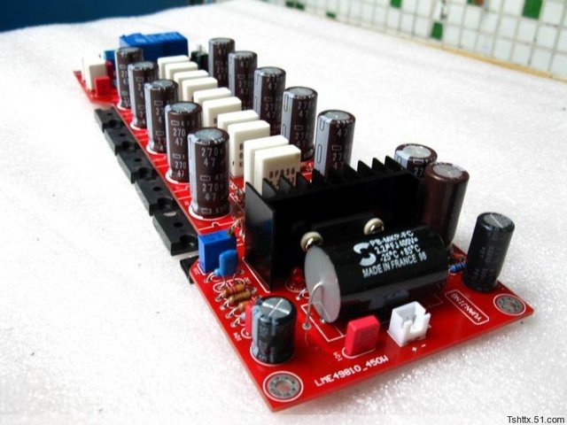 US $56 24 20% OFF|With insurance and protection circuit LME49810 2SA1943  2SC5200 300W power amplifier board DIY-in Amplifier from Consumer  Electronics