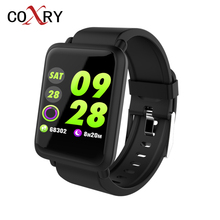 COXRY Smart Watch Woman Android Ios Digital Women Sport Pedometer Bracelet Watches Men Blood Pressure Swimming Bluetooth