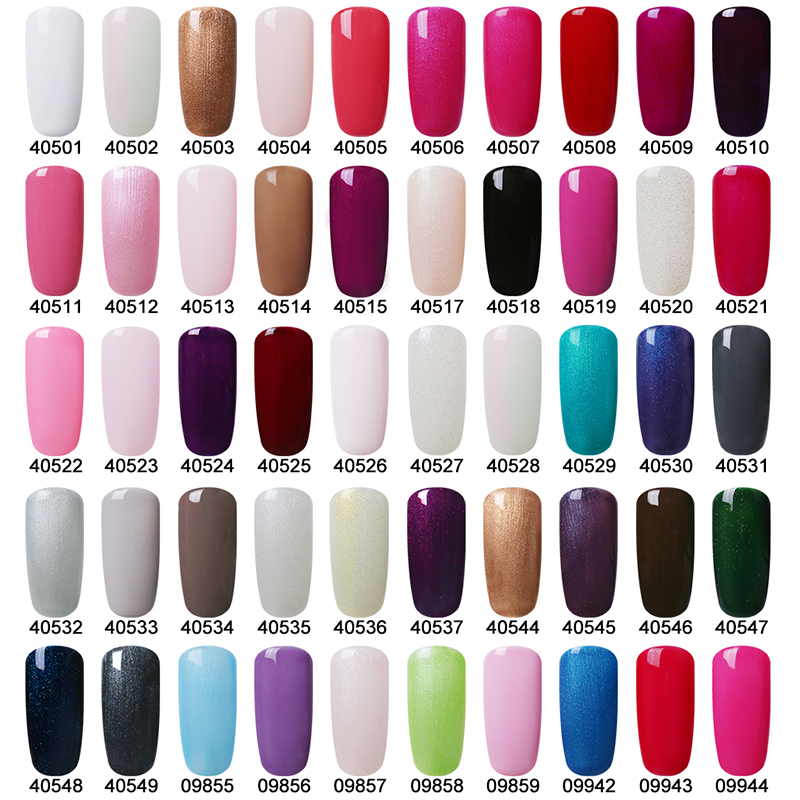Gel Nail Polish Colors: Belen 7.3ml Gelpolish All 79 Gel UV Color Glaze Gel