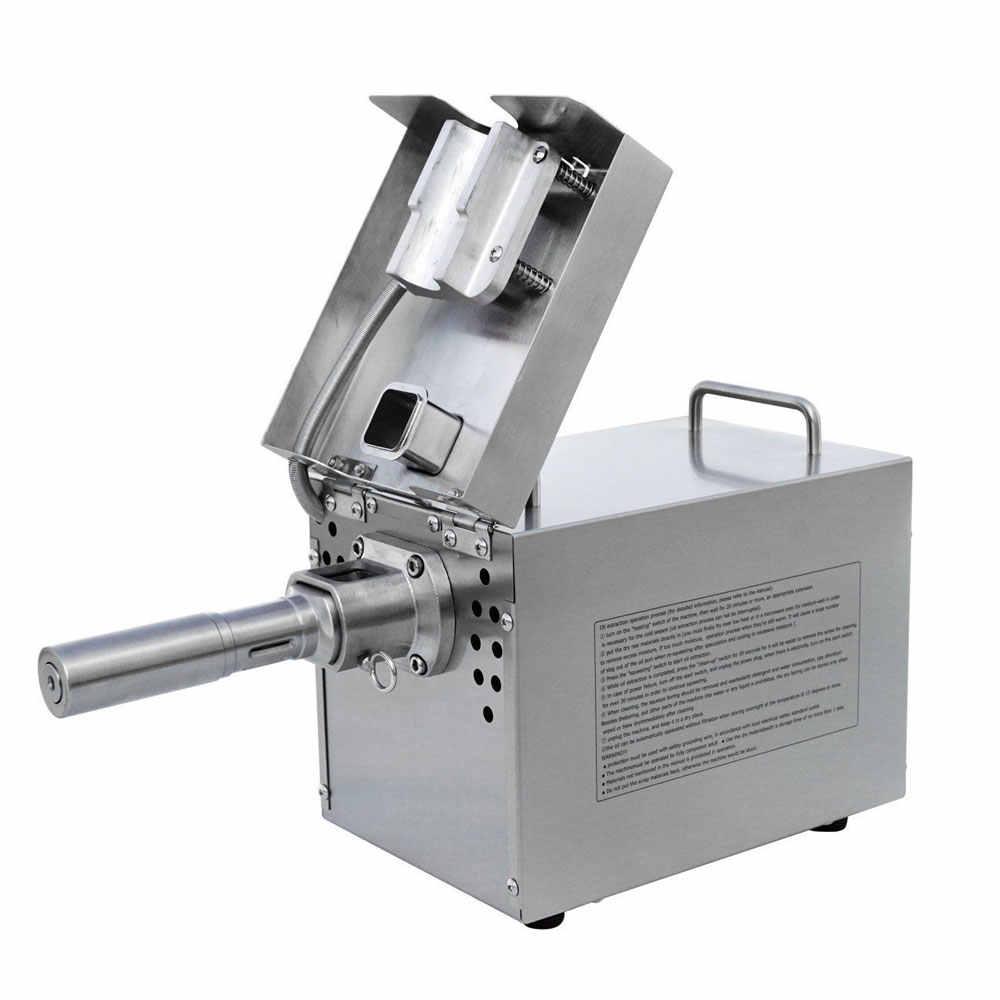 Een Paar (Knijpen Schroef En Bar) thuis Olie Persmachine Voor Koude Pers Olie Machine Roestvrij Staal Automatische Olie Extractor