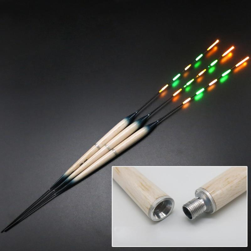 3pcs/set Luminous Fishing Float LED Electric Float + 3pcs of CR425 Battery In Storage Box Light Fishing Tackle FU014|Fishing Float| - AliExpress