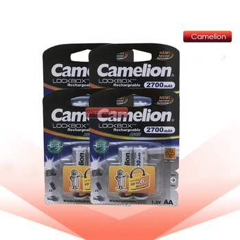 Batería recargable NiMH Ni-MH Camelion 2700mAh 1,2 V AA de alta capacidad