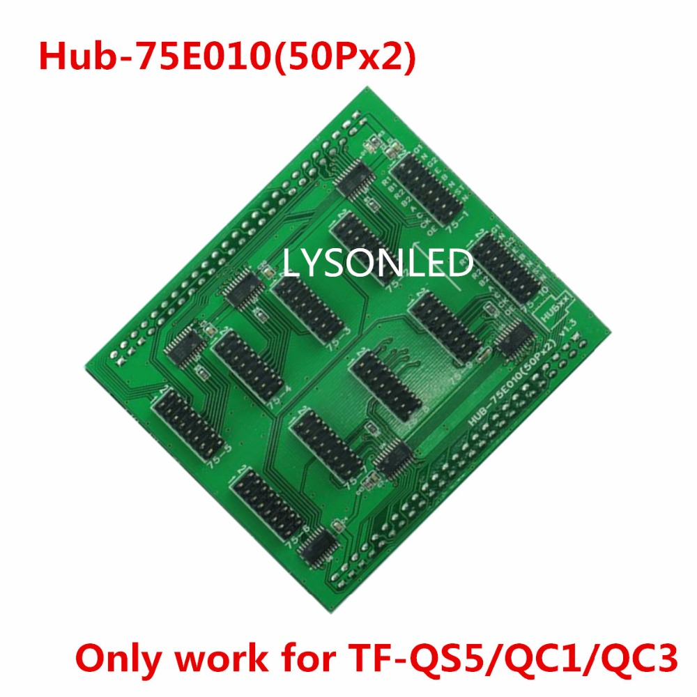 LongGreat Full Color LED Card Hub-75E010 Adapter(Work For TF-QS5/TF-QC1/TF-QC3)Support HD Indoor 1/32 Full Color LED Module