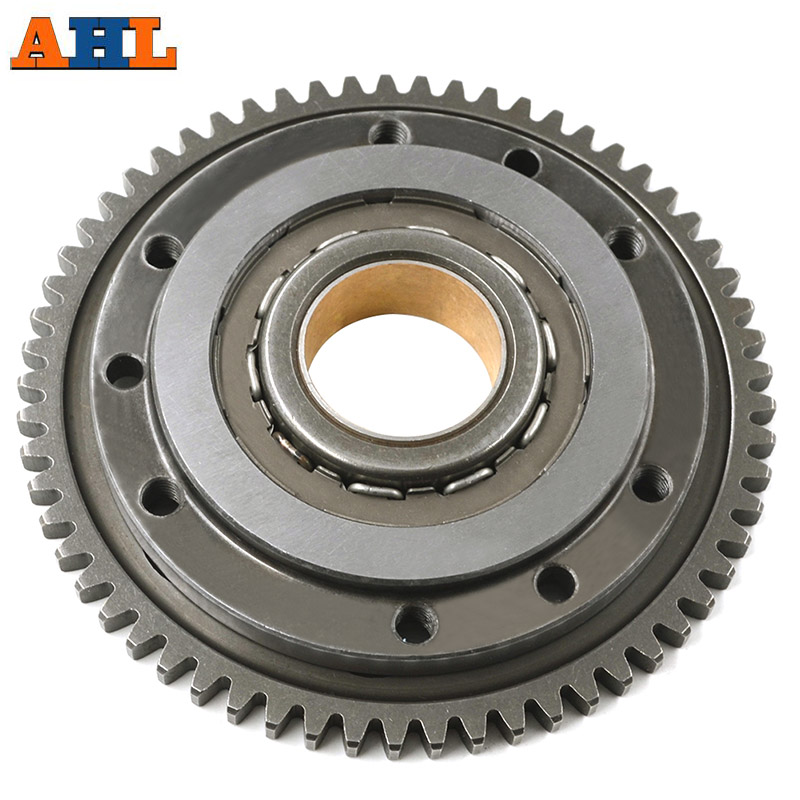 Motorcycle Starter Clutch Gear Assy Kit For BMW F650 F650GS F650CS G650X Aprilia Pegaso 650 Overrunning One Way Starter Bearing