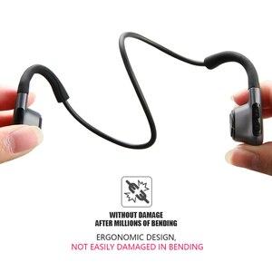 Image 4 - מקורי אוזניות Bluetooth 5.0 הולכה עצם אוזניות אלחוטי ספורט אוזניות דיבורית אוזניות תמיכת זרוק חינם