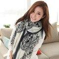 B605 de venado hembra de Corea 2016 nuevo otoño y el invierno femenina bufanda larga sección de productos de doble uso al por mayor fábrica