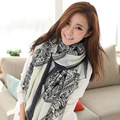 B605 female deer Korea 2016 new autumn and winter scarf female long section of dual-use factory wholesale