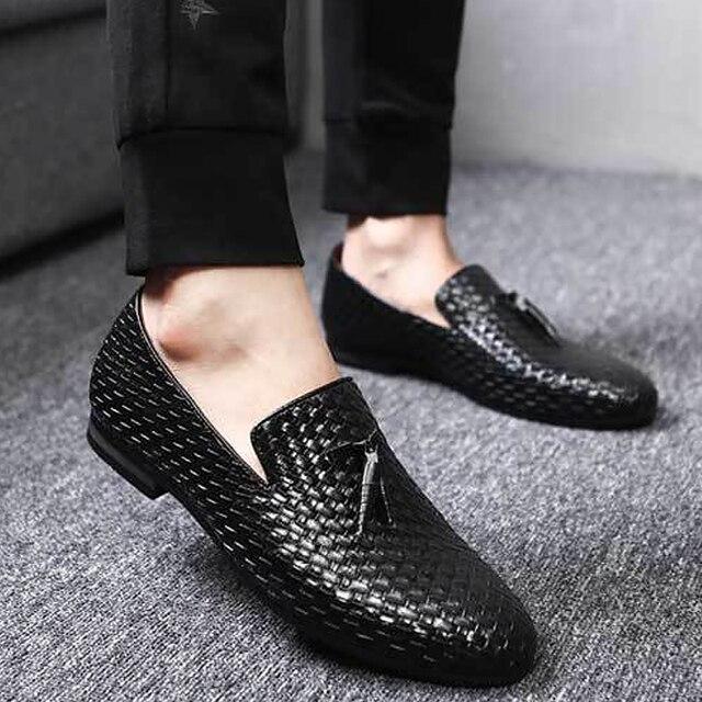 91de9a698a US $19.59 51% di SCONTO|Scarpe da uomo in vera pelle di cinghiale mocassini  casual slip On scarpe di grandi dimensioni 37 48 solido nero/blu /grigio ...