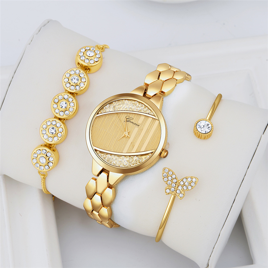 Luxury Bracelet Women Watches Fashion Elegant Ladies Wristwatch 2019 New Rhinestone Female Dress Watch Gift Clock Reloj Mujer