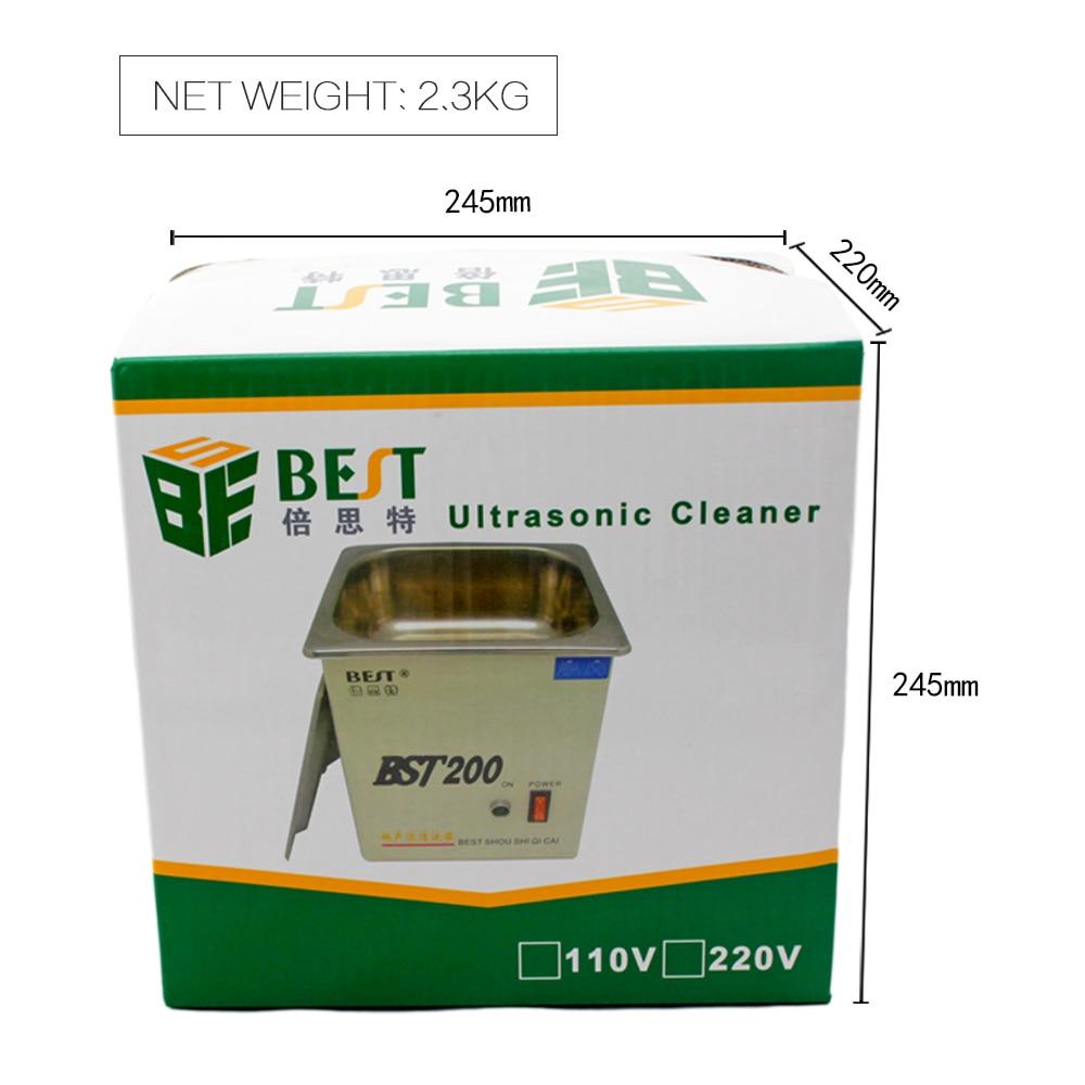 Professionele Multi functionele Ultrasone Reiniger voor Sieraden Horloge Bril Precisie Elektronica - 6