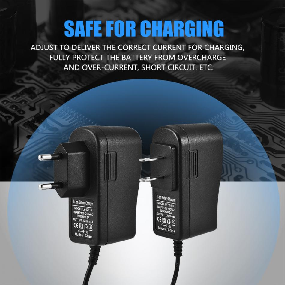 126v 1a Dc Power Adapter Charger For Lithium Battery Pack Safe The Circuit Charge Mobile Phones Phone Charging With Us Uk Plug Optional In Chargers From Consumer Electronics On