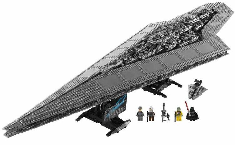 Lepin 05028 Building Blocks toy Star Wars Execytor Imperial Destroyer Model Block Brick Compatible 10221 lepin 22001 pirate ship imperial warships model building kits blocks 1717pcs brick toy compatible with lepin 10210