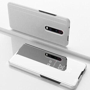 Image 4 - Mirror Flip Smart Case for Redmi K20 Pro 5 Plus 6 6A 4X Note 5A 3 4X 5 6 Pro Y1 Lite S2 Y2 Clear view case for Xiaomi 9T Pro 5C