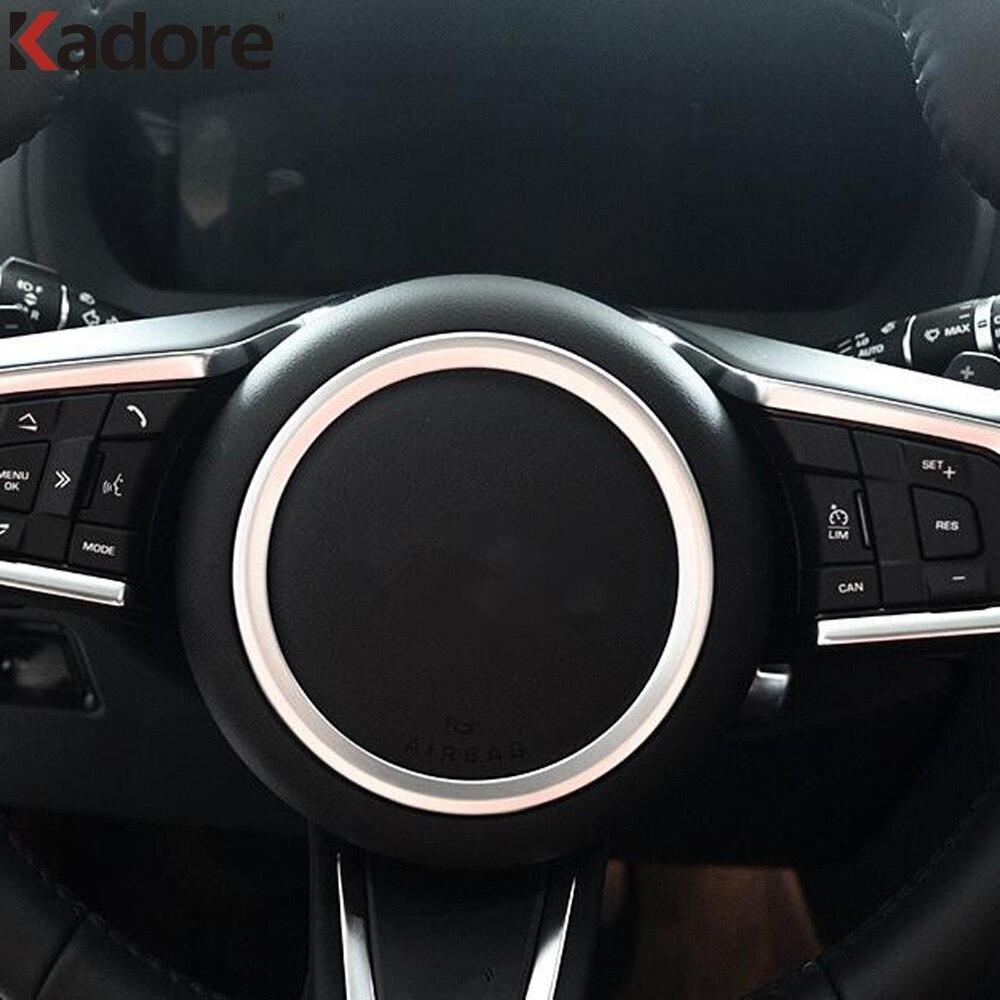 2017 Jaguar F Pace Interior: For Jaguar F PACE 2016 2017 2018 Steering Wheel Decor Ring