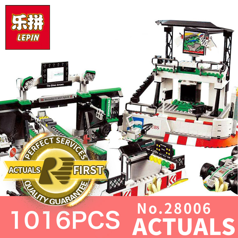 1016Pcs Lepin 28006 Technic Series The AMG PETRONAS Formula Team Educational Toys For Children Building Blocks Bricks 75883 compatible with lego technic 75883 lepin 28006 1016pcs amg petronas formula one team building blocks bricks toys for children
