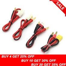 1 шт. RC соединительные кабели T plug Deans разъем для банана Tamiya штекер для банана для IMAX B6 B6AC B8 зарядные устройства