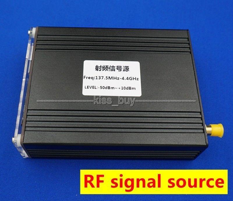 OLED affichage numérique ADF4351 35 MHZ-4.4 GHZ générateur de Signal fréquence RF source de signal + dc 12 v puissance avec port usb - 6
