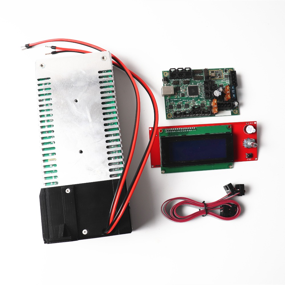цена Prusa i3 mk2/mk2s 3d printer mini-rambo 1.3a motherboard, LCD screen and PSU power supply unit