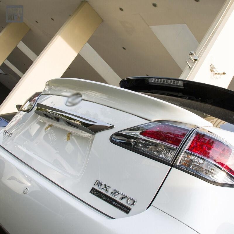 Per Lexus RX270 RX350 RX200 RX Series 2013 2014 2015 2016 auto In Plastica ABS Non Verniciato Primer Modificato Ala Posteriore Tronco Spoiler 1 Pz