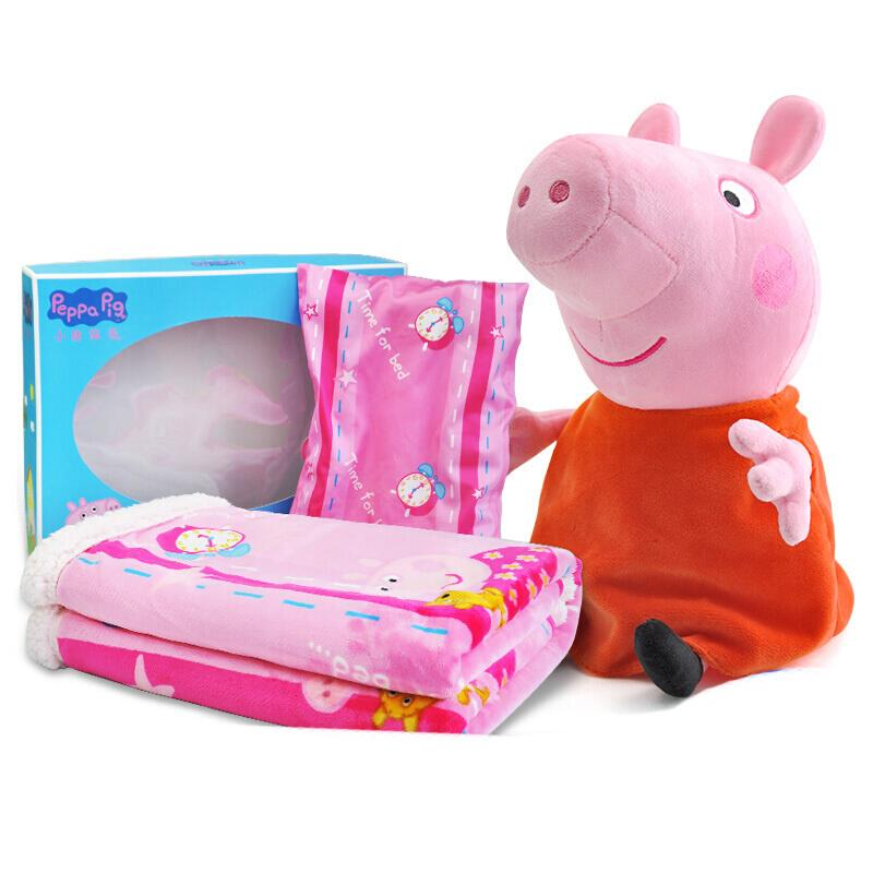 Genuine Peppa Pig Baby cutton Blanket kids plush soft Comfortable bedding quilt peppa George mud series kids toy gift 140*110 Проектор