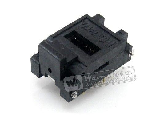 Waveshare IC51-0282-334-1 Yamaichi IC Test et adaptateur de programmeur de prise de rodage 1.27 pas pour le paquet SOP28 SO28 SOIC28