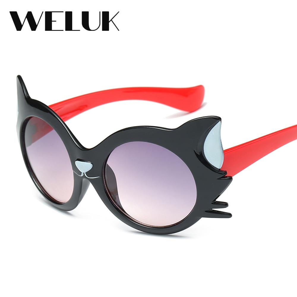 99052c34109a WELUK Cute Litter Cat Baby Eye Protection Sunglasses Boys and Girls Shade  Oculos UV400 Outdoor Beach Playing Eyewear Gfas on Aliexpress.com