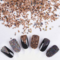 10000Pcs Mini 0.8mm Gardient Beads Shining 3D Nail Decoration for UV Gel Manicure Nail Art