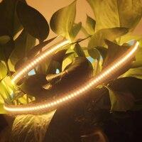 5 IP20 m/lote Luminosa Elevada Smd 2216 Luz de Tira Conduzida Resistente Ao Calor Cri90 95 Cri 19 W 12 V 24 V 2700 K 3000 K Luzes de Tira Conduzida Flexível