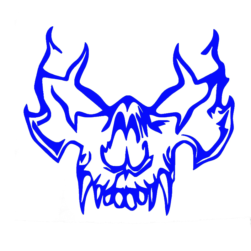 7f6a5a5b5b7 Wholesale 10pcs lot 20pcs lot Vampire Skull Decal Sticker Jdm Funny Vinyl  Car Window Bumper Truck Laptop -in Car Stickers from Automobiles    Motorcycles on ...